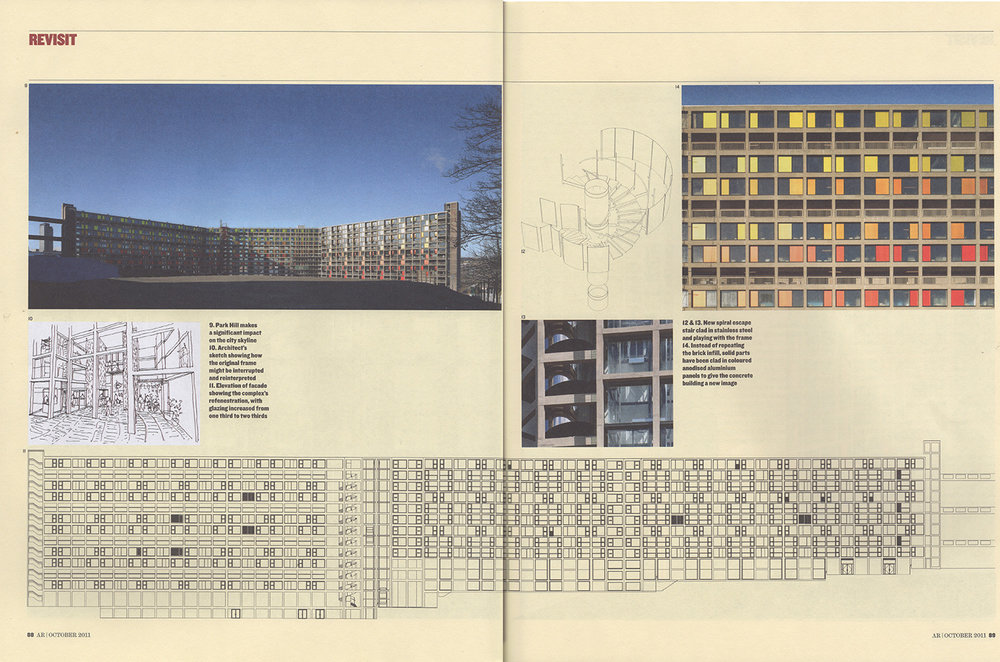 - Architectural Review, October 2011Park Hill, Urban Splash