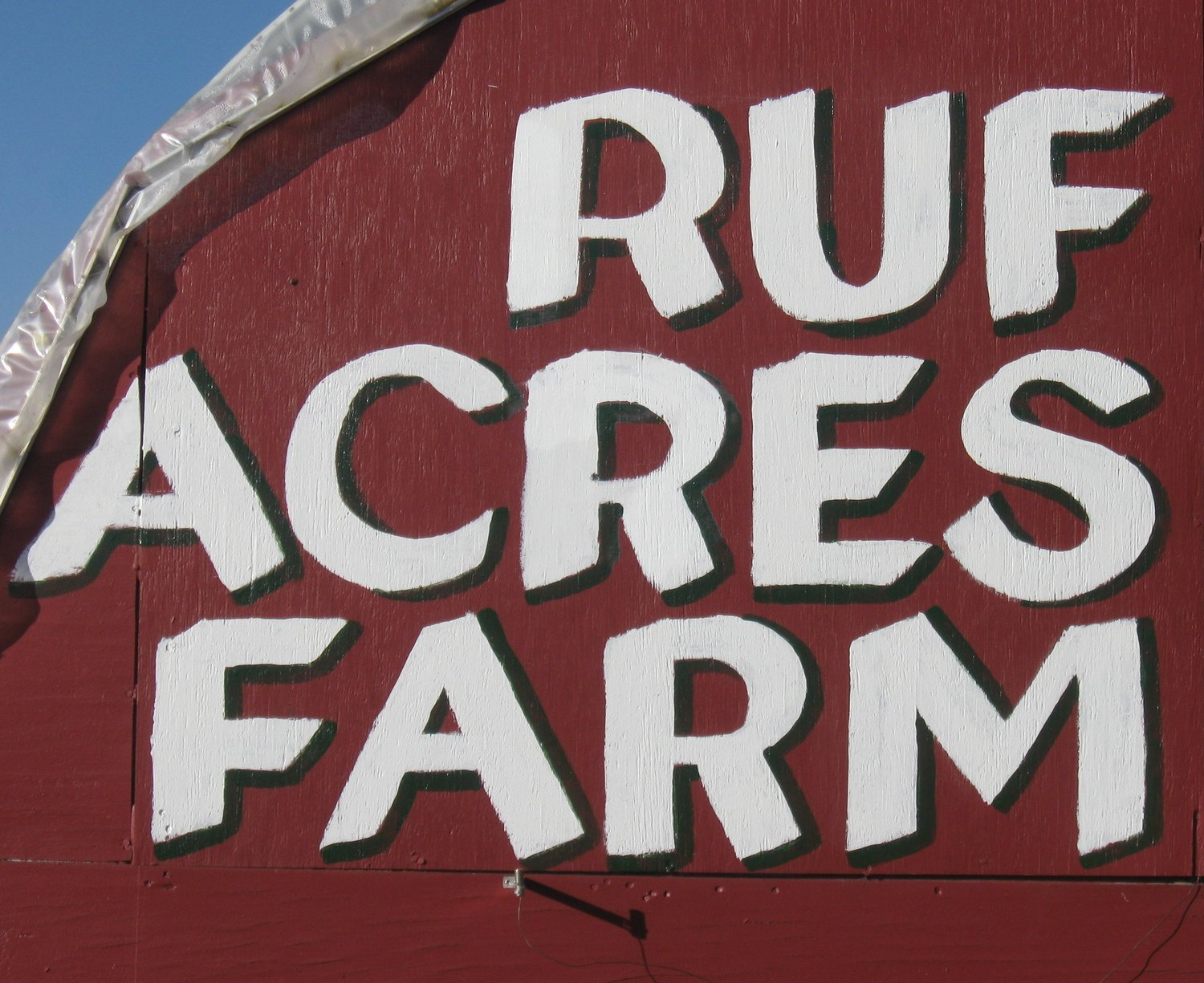Ruf Acres Farm