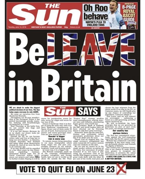 The Sun, 14 June 2016