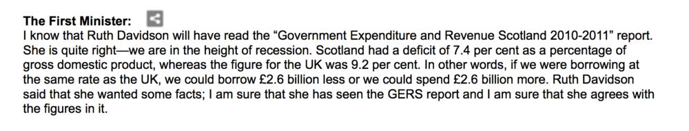 Alex Salmond, SNP MSP,31/03/2012