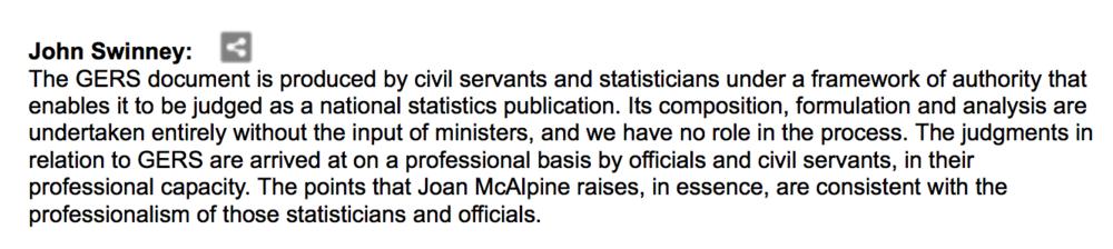 John Swinney, SNP MSP,15/03/2012
