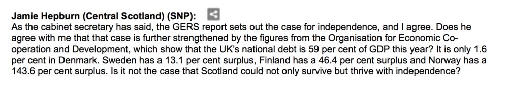 Jamie Hepburn, SNP MSP, 23/06/2010