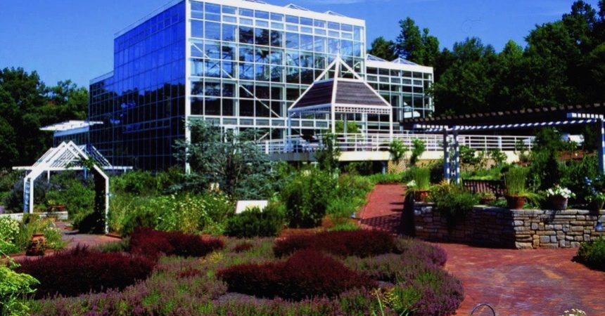 Photo of the State Botanical Garden of Georgia courtesy of the Athens Convention & Visitors Bureau.