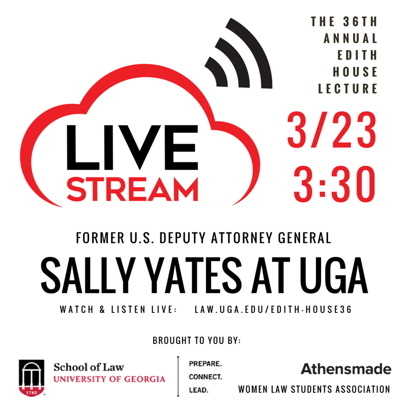 Sally Yates-Edith-House-Lecture