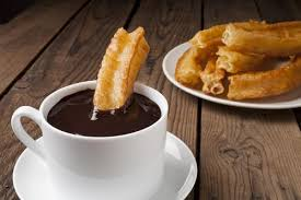 Try a churros con chocolate