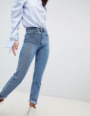 Lost ink slim mom jeans