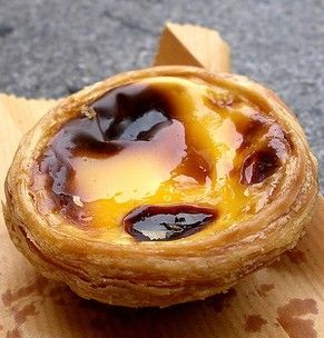 Try an authentic custard tart