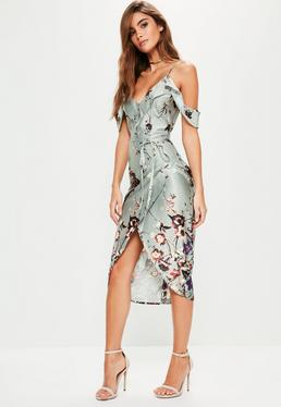 grey-frill-floral-midi-dress.jpg