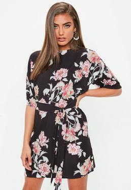 black-floral-print-tie-front-t-shirt-dress.jpg