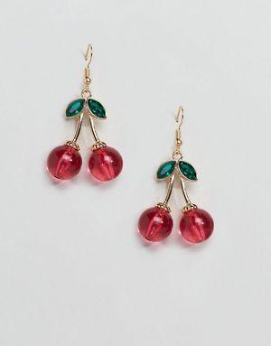 Asos cherry earrings