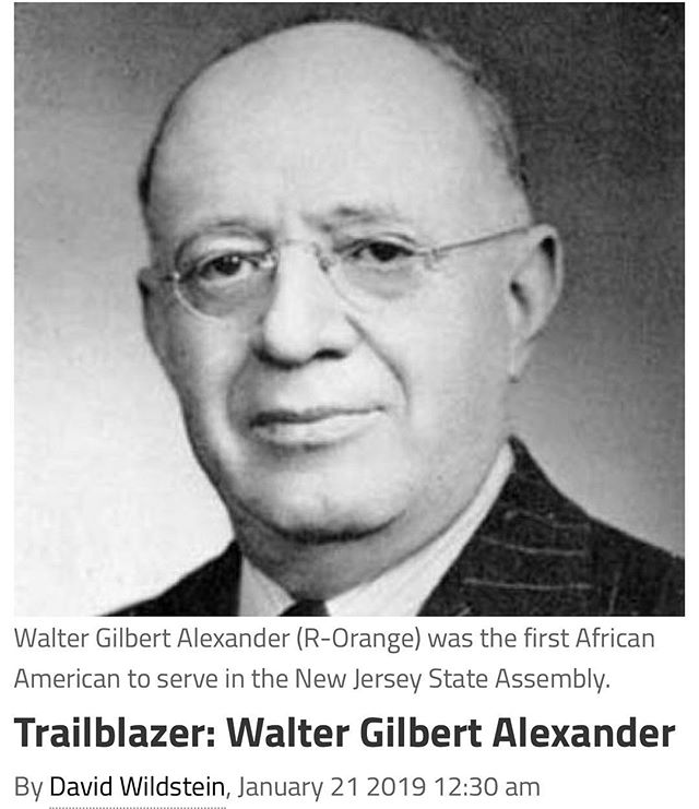 https://new jersey globe.com/trailblazer/trailblazer-Walter-Gilbert-Alexander/ #mlkday