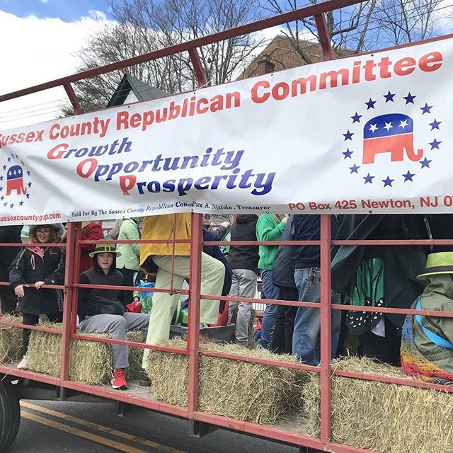 Great time at the 16th Annual Sussex County St. Patrick's day parade! Congratulations and thank you again to the VVA chapter 1002 for leading us today! ☘️🇺🇸 #vietnamveteransofamerica #sussexcountynj #stpatricksday
