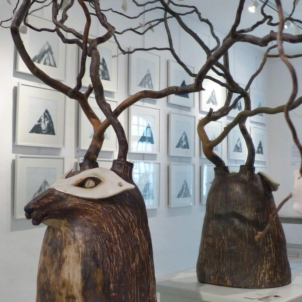 Cerf-loup - Grès porcelainique