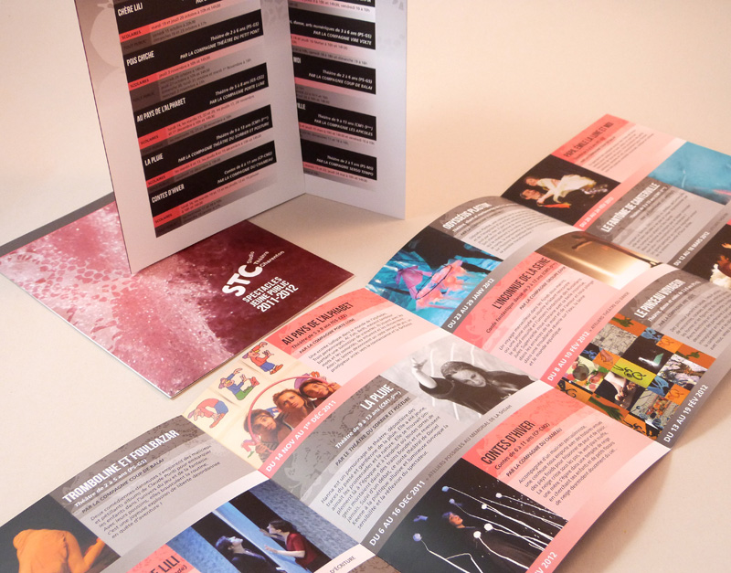Plaquettes / flyers / mailing / site