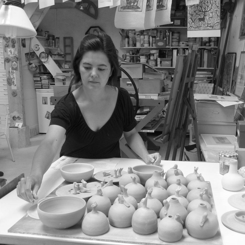 Expositions / ventes de noël - Paris & Saint-Martin de RéLa madrigenMelting pot céramiqueatelier personnel à Saint-martin de ré (17)