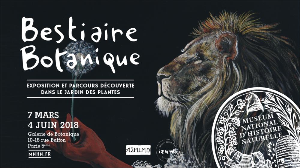 LOCATION DE L'EXPOSITIONBESTIAIRE BOTANIQUE//Exposition, dédicace, atelier - Par Izumi Mattei-Cazalis et les éditions A2MIMO