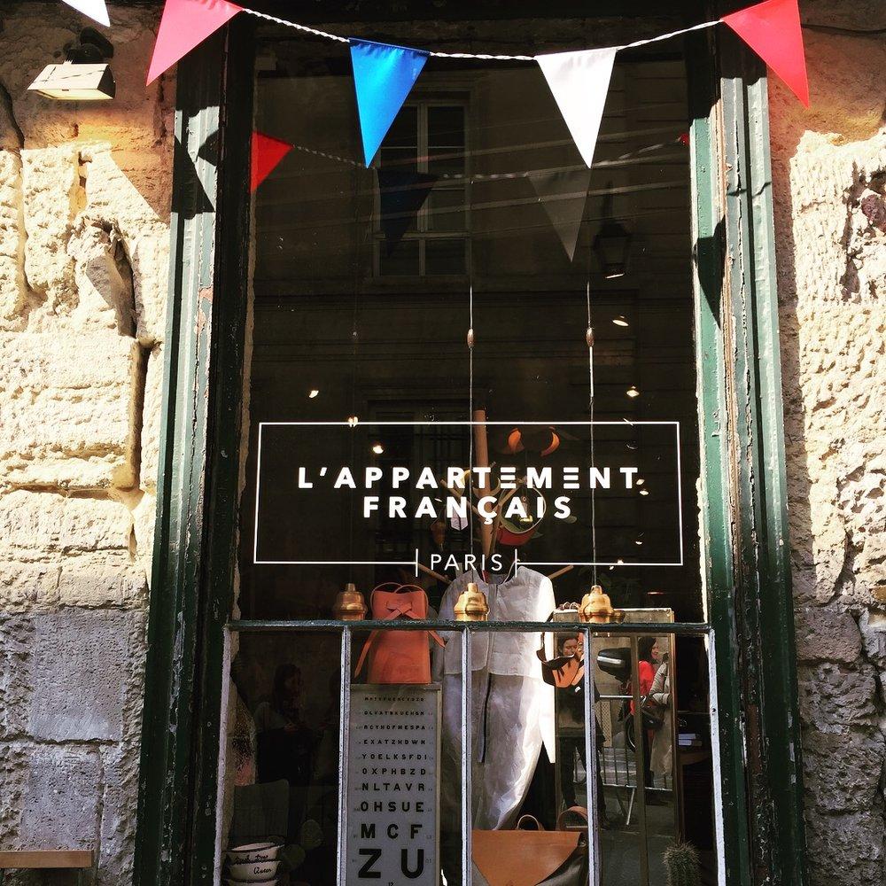 l'appartement français - 16 Rue vertbois 75003de 11h à 18h tlj sauf le lundiFermé le 15 juillet 2018