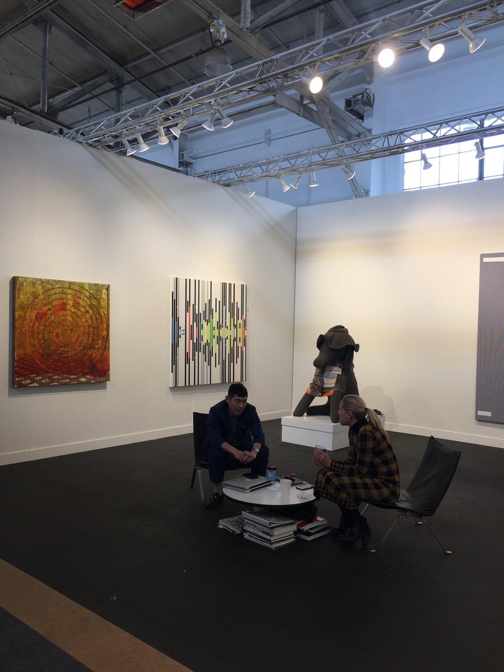 Petzel Gallery Booth.JPG