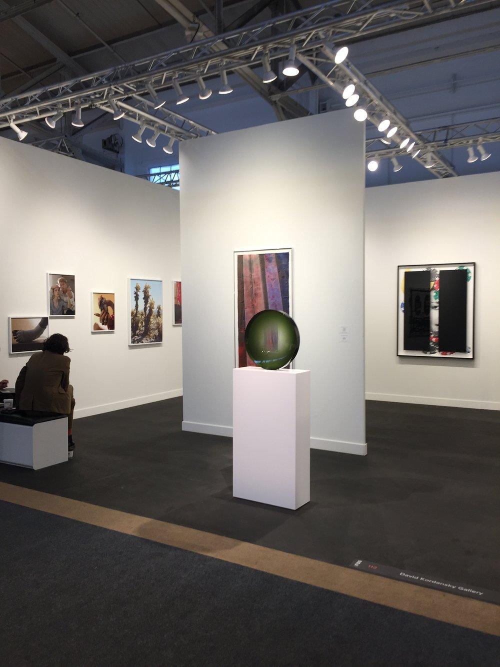 David Kordansky Gallery Booth.JPG