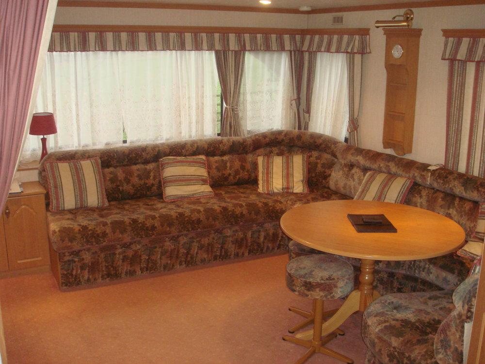Living Room - Caravan 1 Lorton Vale Caravans lortonvalecaravans.co.uk