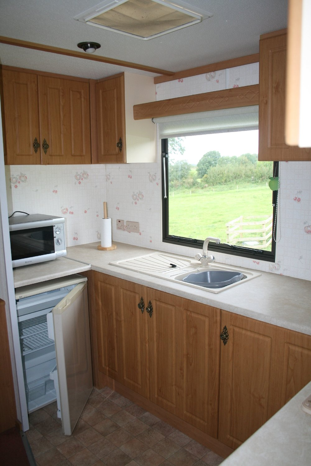 Kitchen - Caravan 2 Lorton Vale Caravans lortonvalecaravans.co.uk