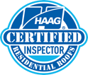 Texas Traditions is a HAAG Certified Inspector