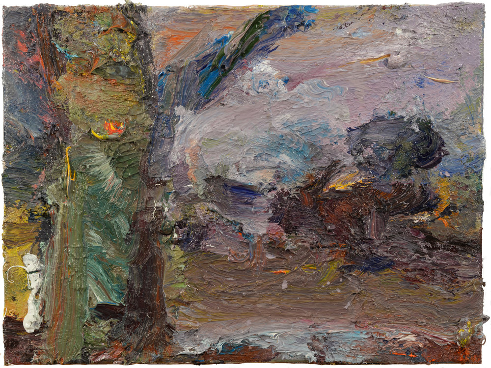 """Studio Lot"" oil on canvas  2018  16x12"""
