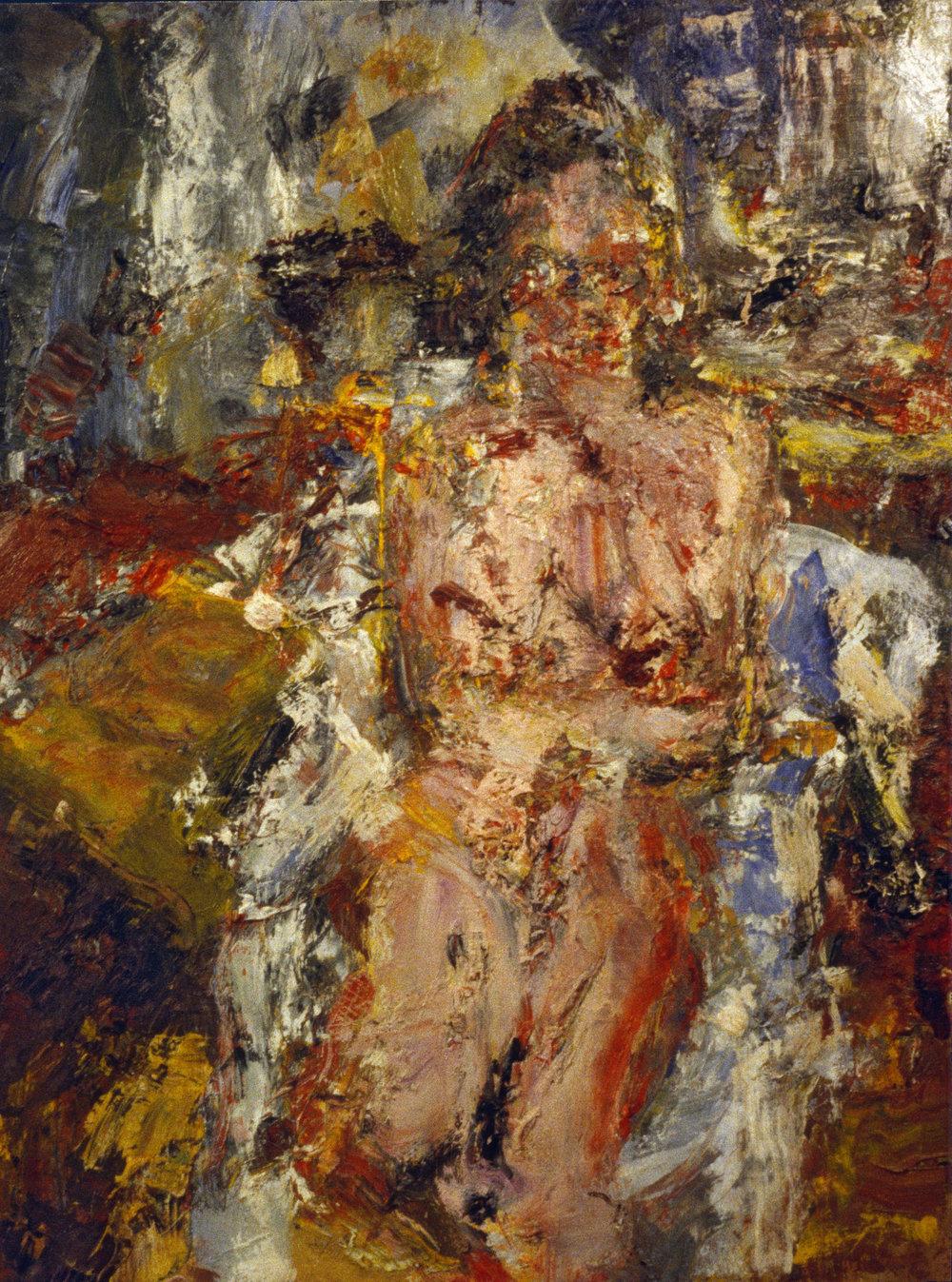 """Nude"" oil on canvas 1994  24""x16"""