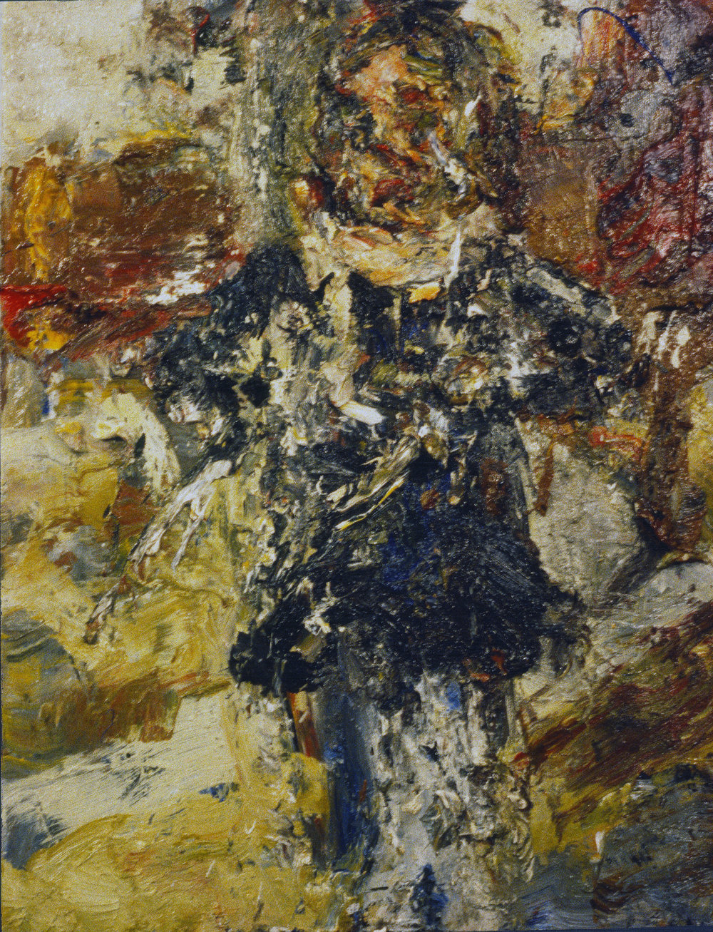 """""""Standing Model"""" oil on canvas 1995 10""""x16"""""""