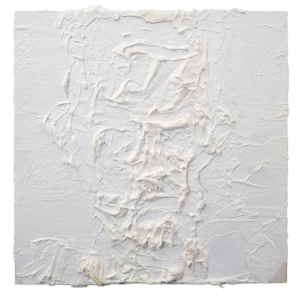 """Self Portrait"" oil on panel  2018 10""x10"""
