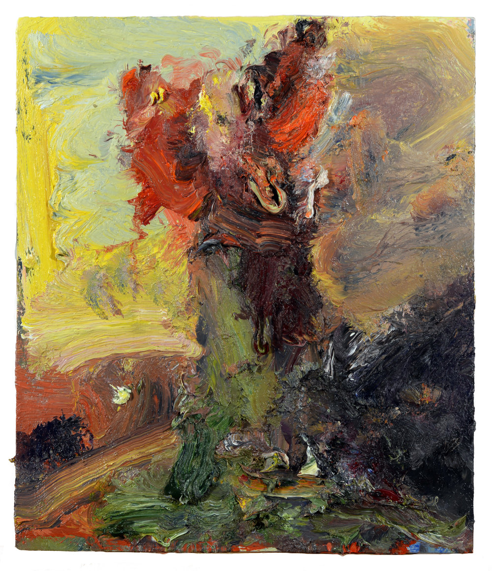 """Vase of Flowers"" oil on panel 2018  14""x12"""