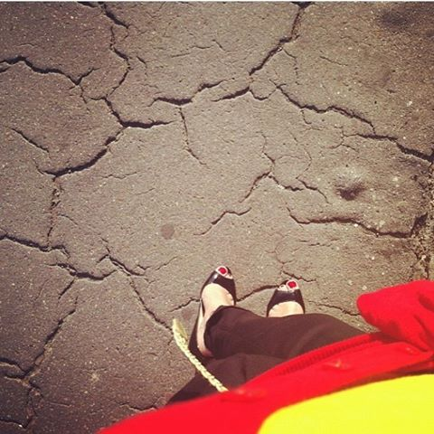 Walking the streets of Florence, june 2013 #tbt #firenze #prada #pradashoes #fashion #instafashion