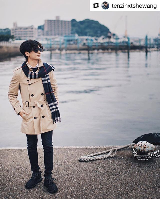 We love/On adore @tenzinxtshewang #ootd #instafashion #fashion #style #burberry