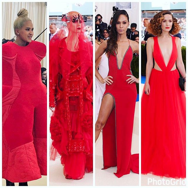 Get ready for #metgala with some RED and #fashiontech