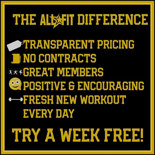 The difference is clear: our prices are listed on our website and are the same online and in gym. No contracts. Reasonable prices and great people! DM is to try a week Free! #orlandoAF #gymorlando #orlando #centralfl #orlandobungalower #orlandobusiness #orlandoblogger