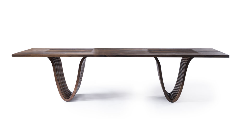Eliptical Coffee Table; Ot/tra, photo by Kronus Studio