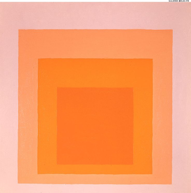 Josef Albers, Homage to the Square, 1971