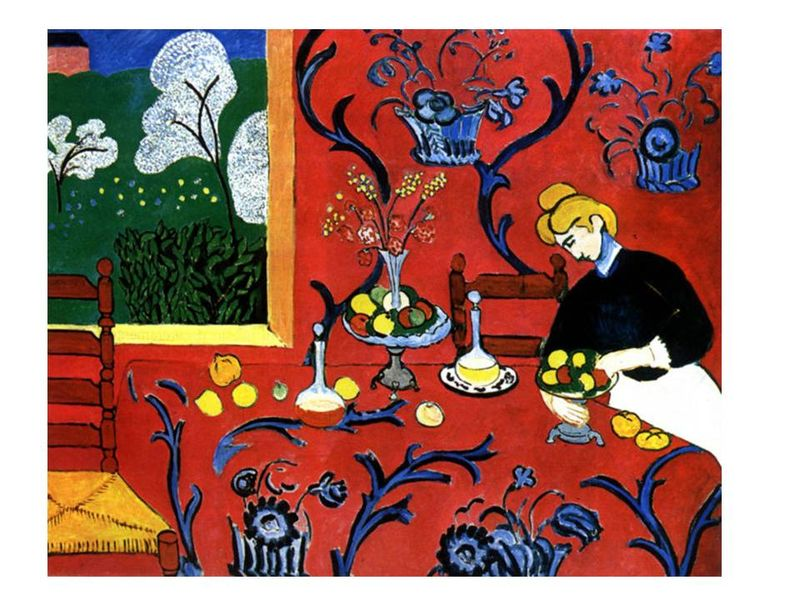 'The Red Room' by Henri Matisse