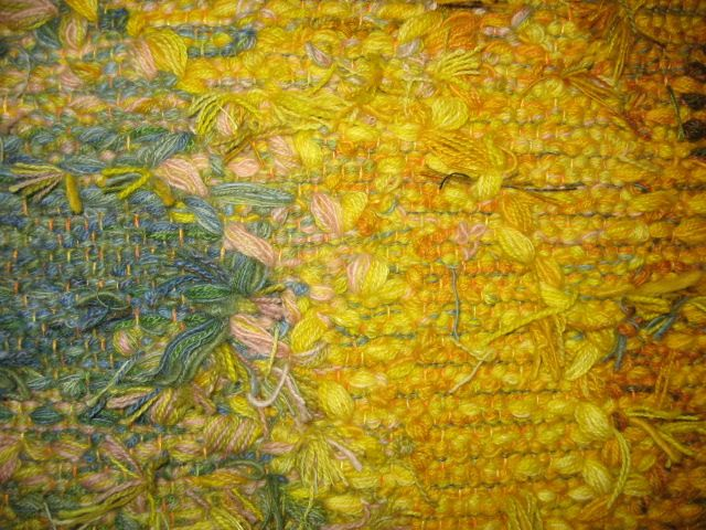 Detail; Handwoven Tapestry