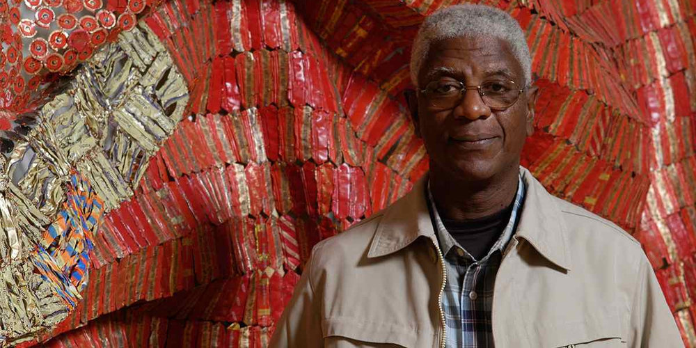 Portrait of El Anatsui