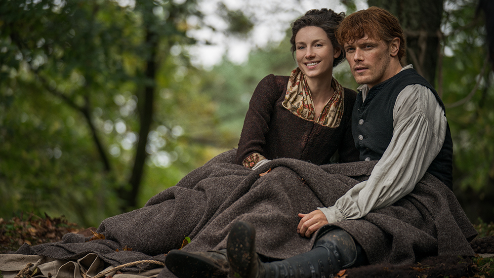 As the days are getting shorter, I find myself cozying up more and more to watch a show or film - Outlander is a personal favorite!