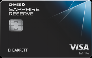 Chase Sapphire Reserve℠ - This card offers 3x on Travel and Dining categories. Learn more about what makes this card one of the top premium credit cards out there.