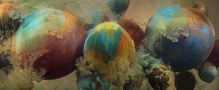 Kim Keever, Abstract 27001b, 2016