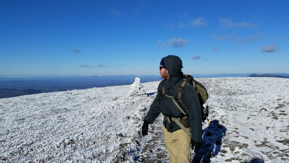 Moosilauke on an insanely clear winter day