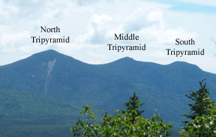 The Tripyramid Range