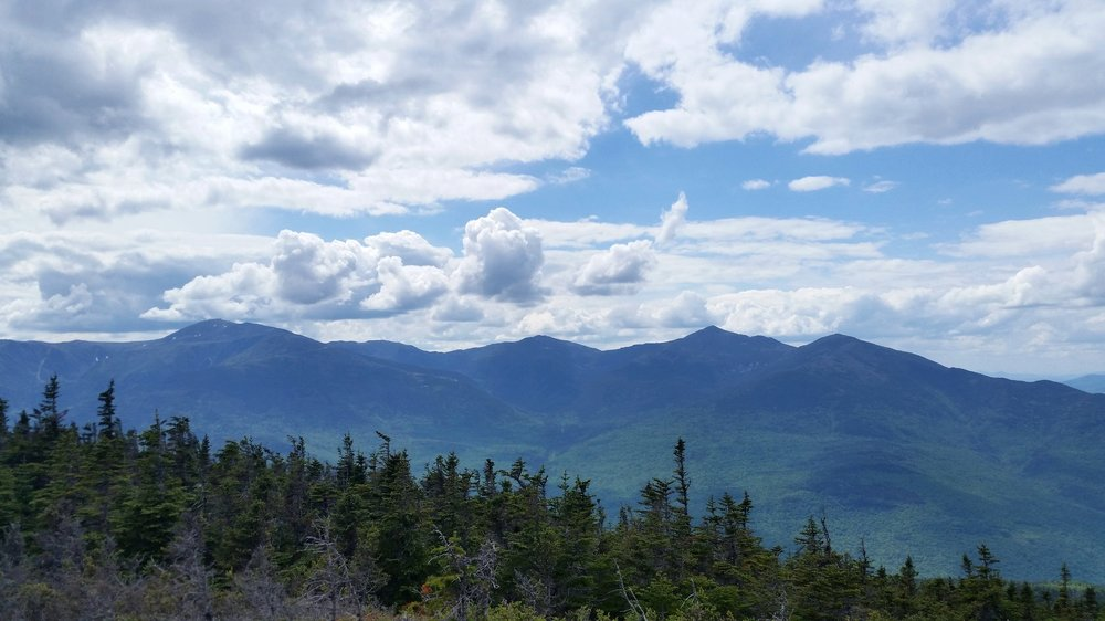 Views of the Presidentials from Middle Carter