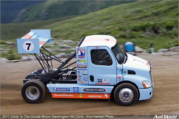 The first Truck Raced in 2011