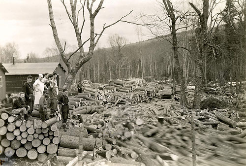 Logging in NH - Before there was Granite there was Timber