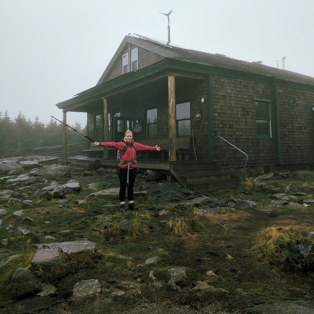 Stayed the night in an almost empty Galehead Hut. Self-Serve Season is the way to go.
