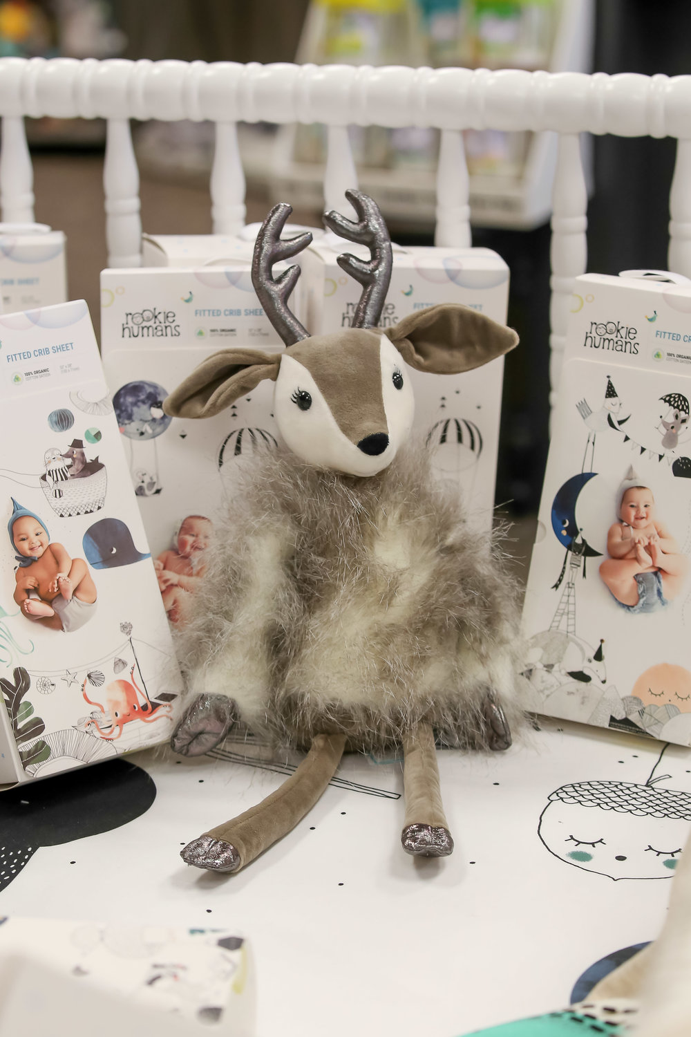 Stuffed Jellycat animals like this cute reindeer from  Eddy Joy Baby Boutique .